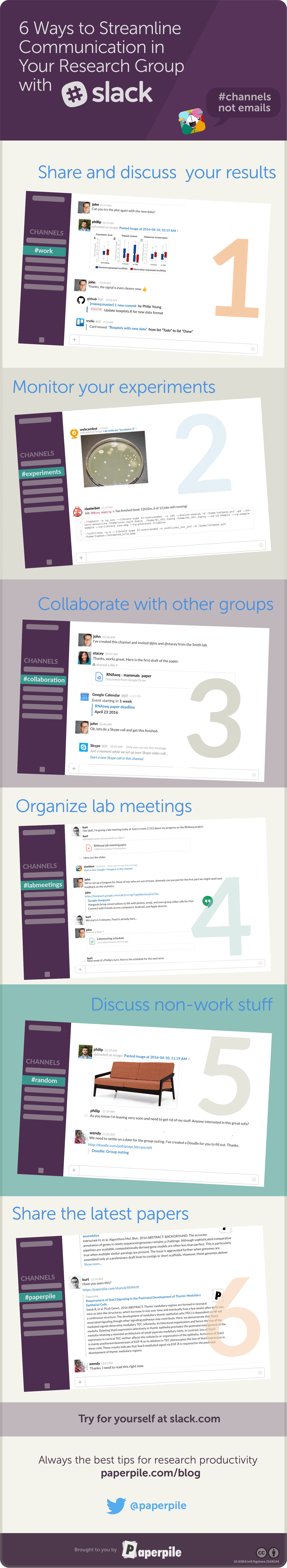 6 Ways to Streamline Communication in Your Research Group